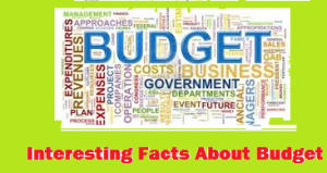 Budget Interesting Facts