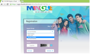 SBIMingle-Registration
