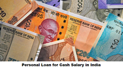 Personal Loan for Cash Salary