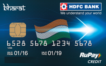 HDFC Bank Bharat Credit Card for Rs.12000 Income