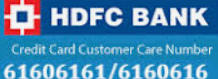 HDFC Bank Credit Card Customer Care Contact Details